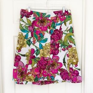 Lane Bryant | Fall Floral Circle Skirt Sz 26